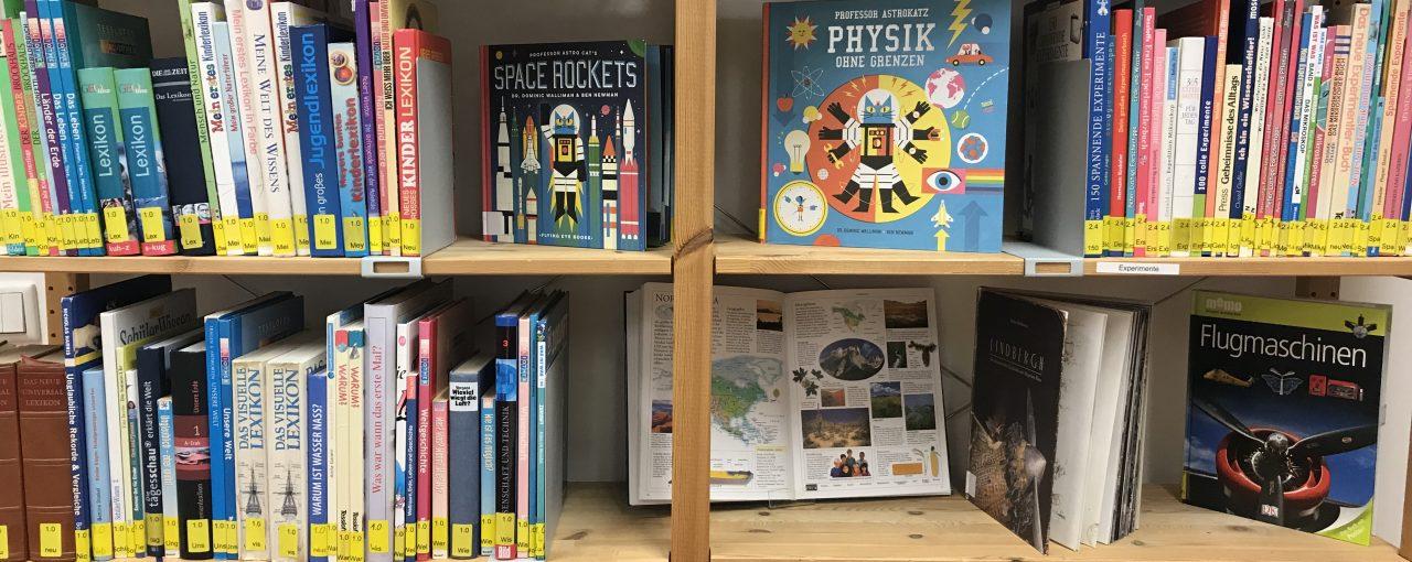 Unsere Grundschul-Bibliothek