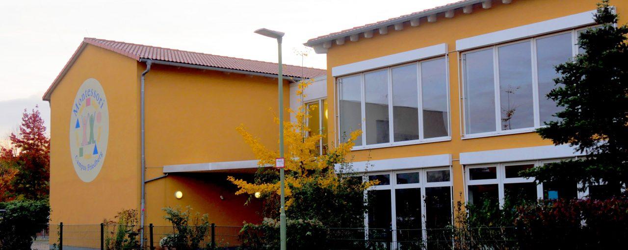 Offenes Klassenzimmer in der Montessori Grundschule