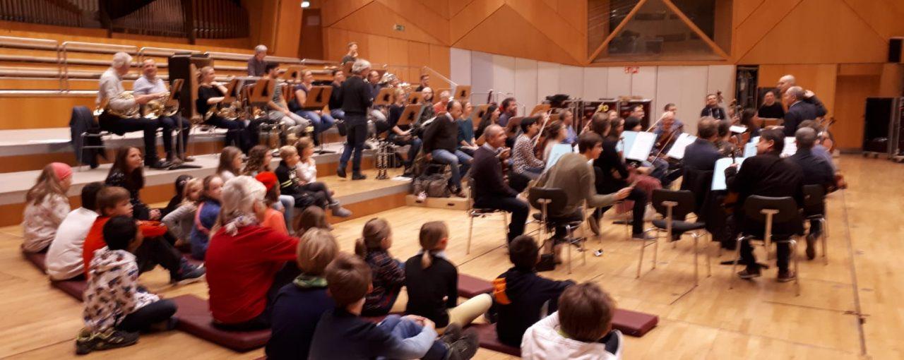 Ausflug zum HR-Sinfonieorchester in Frankfurt
