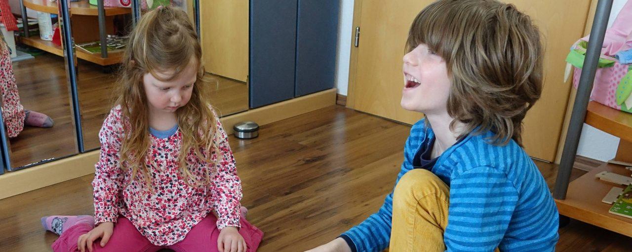 Unterricht zu Hause mit Mama - Teil 1
