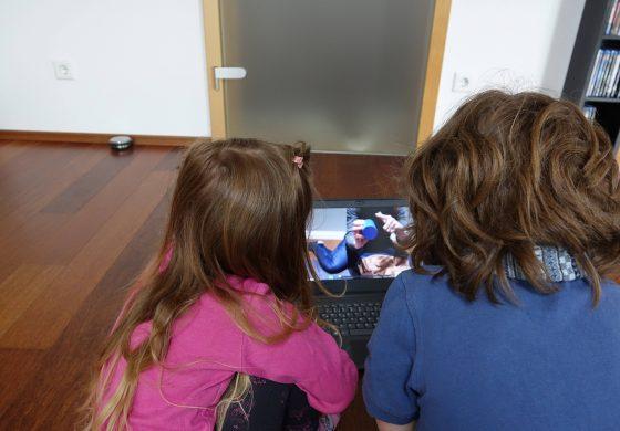 Unterricht zu Hause mit Mama - Teil 4
