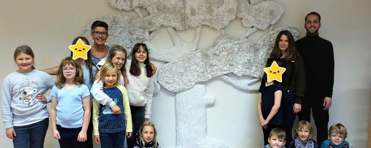Kunstvolle Herbstferien in der Montessori Grundschule